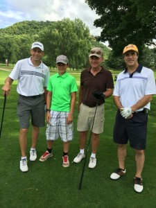 2nd place - Brad and Ben Fowler, Jim Ringstrom and Tom Londergan