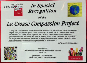 CompassionProject LADCO award