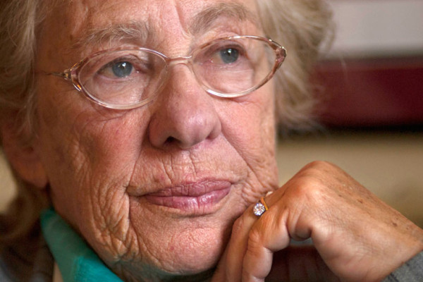 Holocaust survivor Eva Schloss.