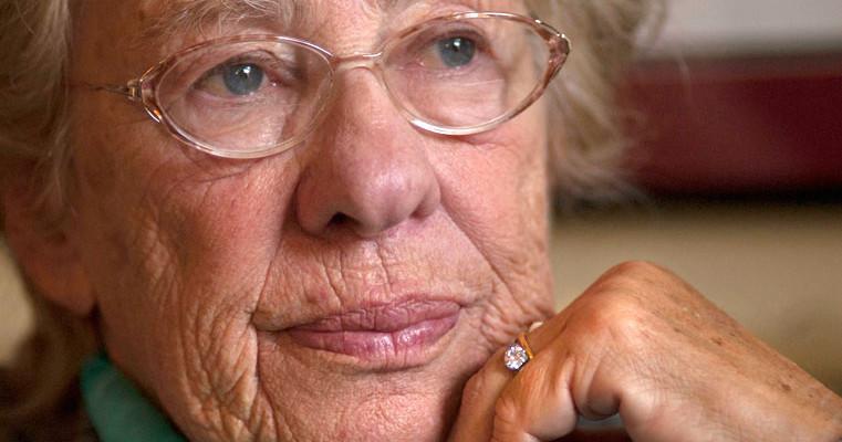Holocaust survivor Eva Schloss.