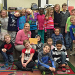 Allison Graumann and her first-graders at Emerson Elementary -- $1,068 grant for first-grade teachers to create hands-on math centers and activities.
