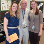 Summit music teacher Danielle Fields, with fifth-grade teachers Marty Maus and Erica Rasmussen -- a $450 grant supports bus transportation for students to sing with the Madison Symphony Orchestra.