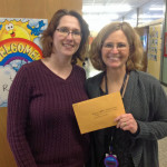 Katherine Erickson and Barbara Wettstein at Hamilton/SOTA were among a group of teachers (Jamie Sage and Courtney Kirchner not pictured) awarded a $906 grant to buy materials to help students get their brains and bodies ready to learn.