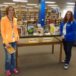 Kellie Schmitz and Dani Hartman at Logan Middle School received a $1,950 grant to buy books to help students think critically about global topics.