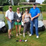 Jerry Seeger, Janice Seeger, Sarah Blanton, KJ Blanton.