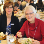 From the UW-L Foundation Board, Ilene Kernozek and Kathie Tyser, a former School District associate superintendent.