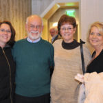 Hamilton teacher Katherine Erickson with Richard Wilson, and honored retirees Robin Wilson and Karen Wilke.