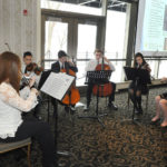 Musicians from Central High School were joined by other music students coached by Busya Lugovier.