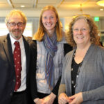 Ron Malzer with Liz Arnold from Gundersen Partners and Margaret Dihlmann-Malzer.