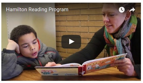 Hamilton Reading Program video
