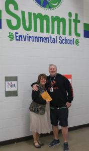 Tracy Taylor Johnson and Nick O'Keefe